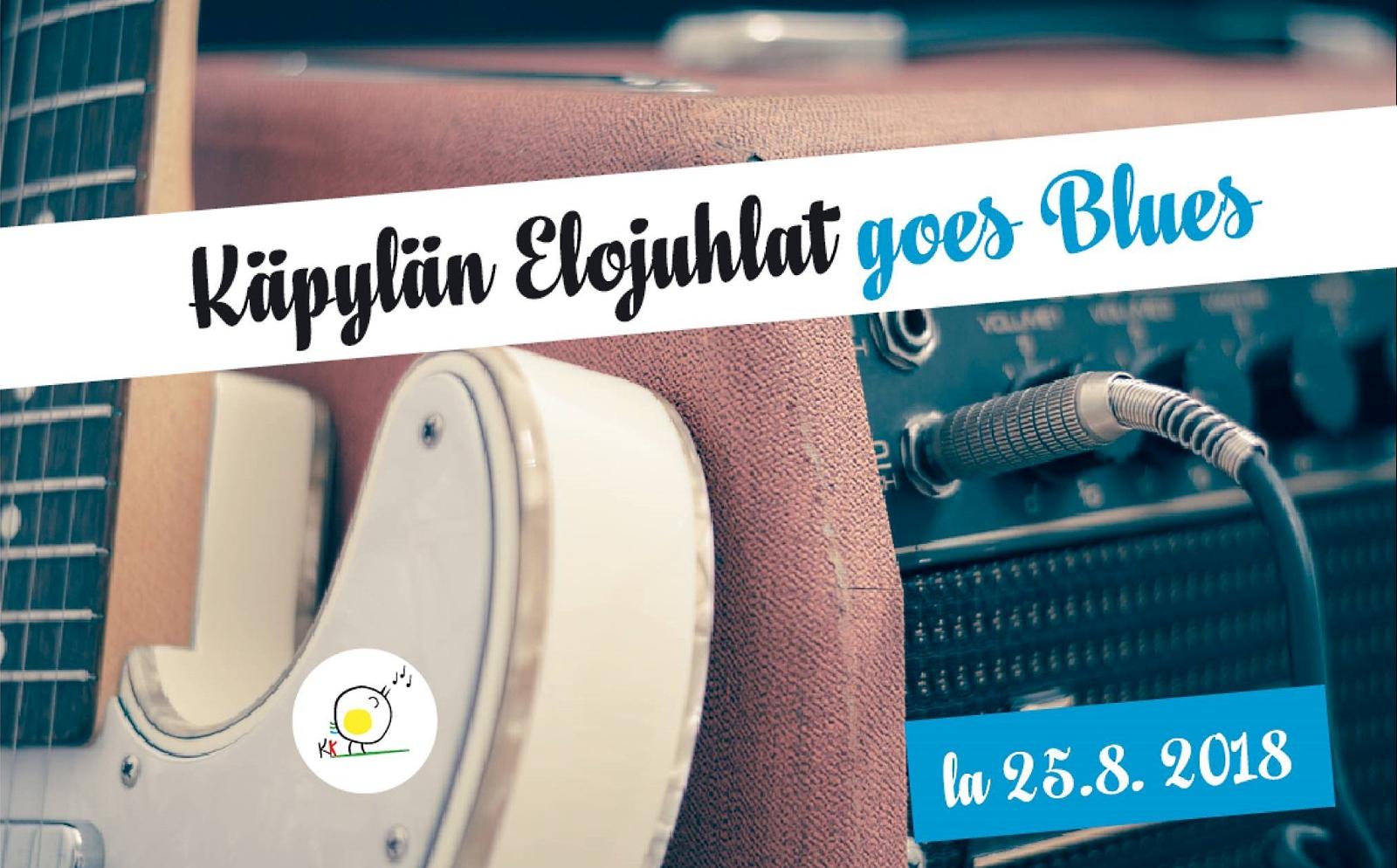 Käpylän Elojuhlat Goes Blues 25.8.2018 Meurmanin puistossa